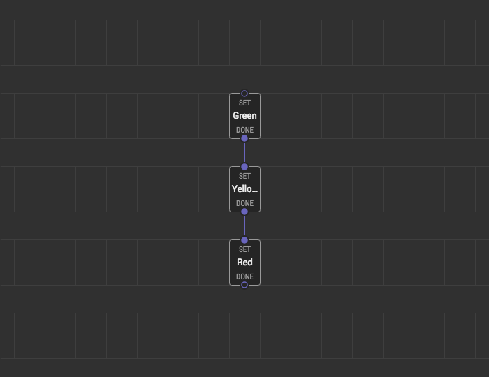 Simple Traffic Light Example — XOD